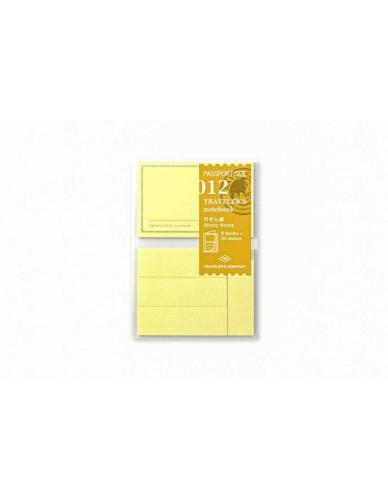 Traveler's Company traveler's company - sticky notes refill - passport 012
