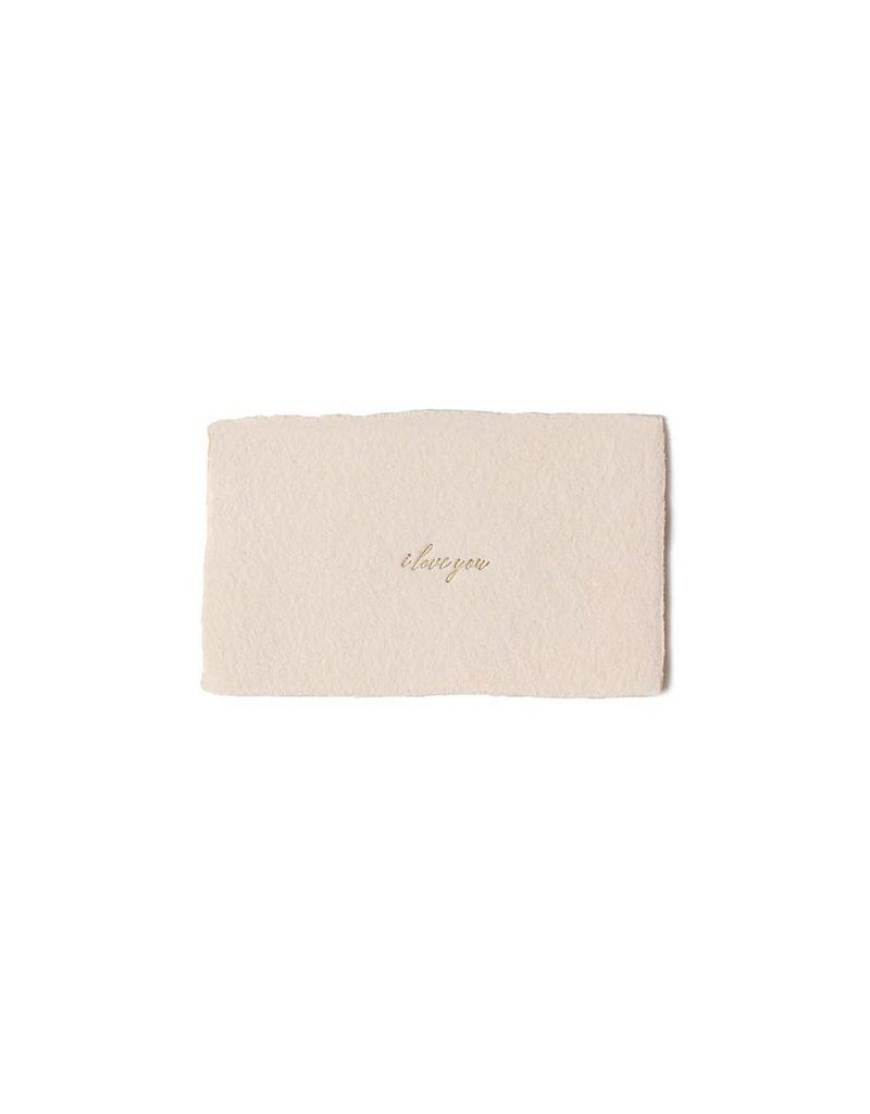 Oblation Papers & Press I Love You Calling Card