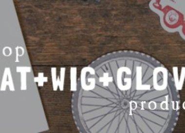 Hat + Wig + Glove
