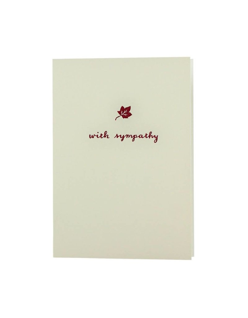 Oblation Papers & Press motif notes - maple