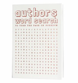 Hat + Wig + Glove Authors Word Search