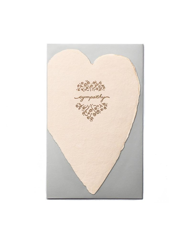 Oblation Papers & Press Sympathy Blush Heart