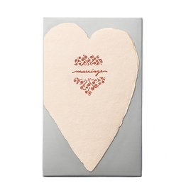 Oblation Papers & Press Marriage Blush Heart