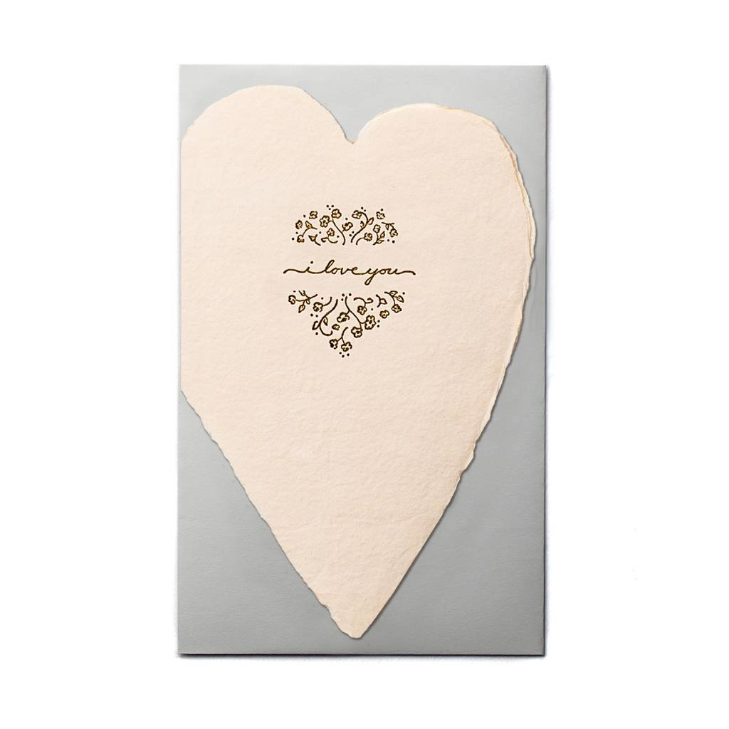 Oblation Papers & Press I Love You Blush Heart