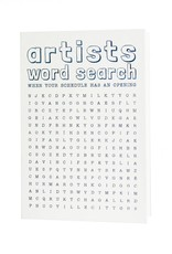 HWG word search - artists