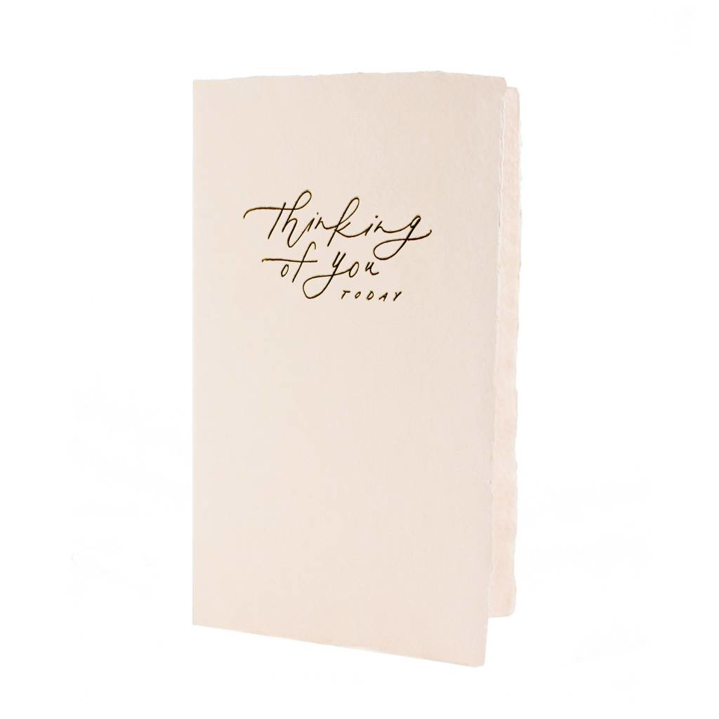 Oblation Papers & Press Thinking of You Today Calligraphy Note