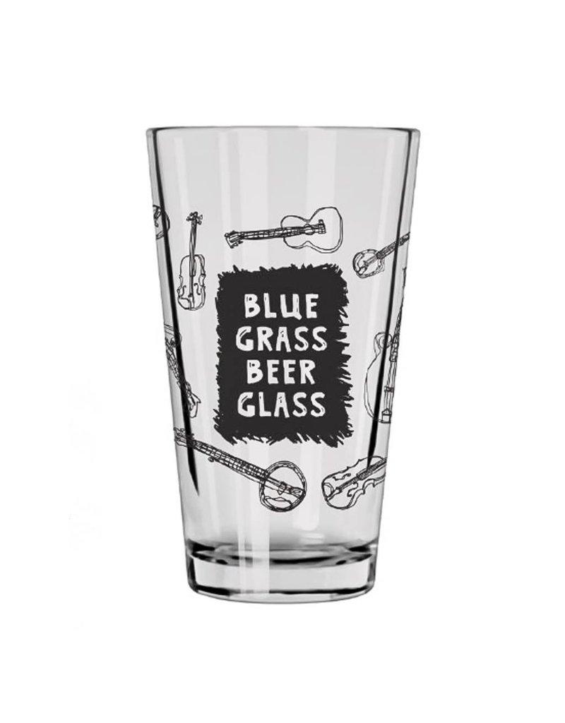 HWG Blue Grass Beer Glass