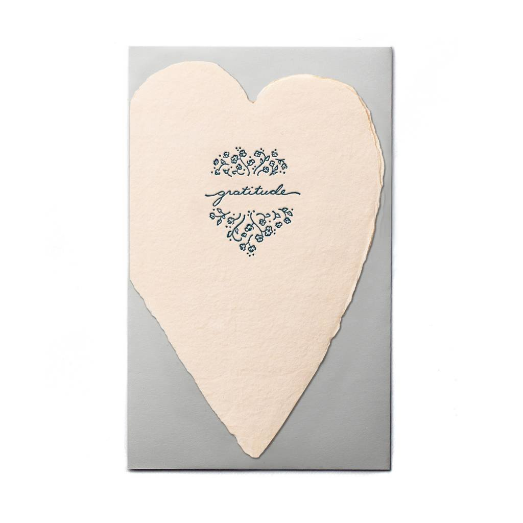 Oblation Papers & Press Gratitude Blush Heart