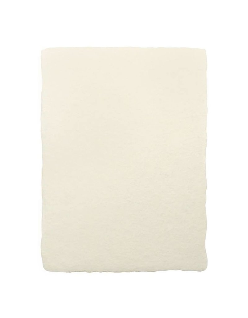 Oblation Papers & Press Handmade Paper Sheet A7 Cream