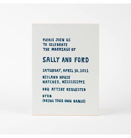 Oblation Papers & Press Sally Invitation
