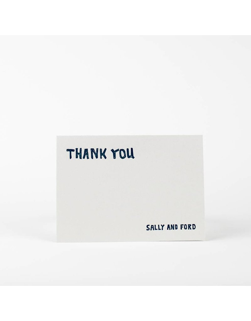 Oblation Papers & Press Sally Thank You