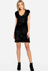 SALE - JOHNNY WAS MORGAN MINI DRESS BLACK