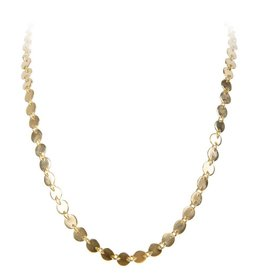 FAIRLEY ALEXA WATERFALL NECKLACE GOLD