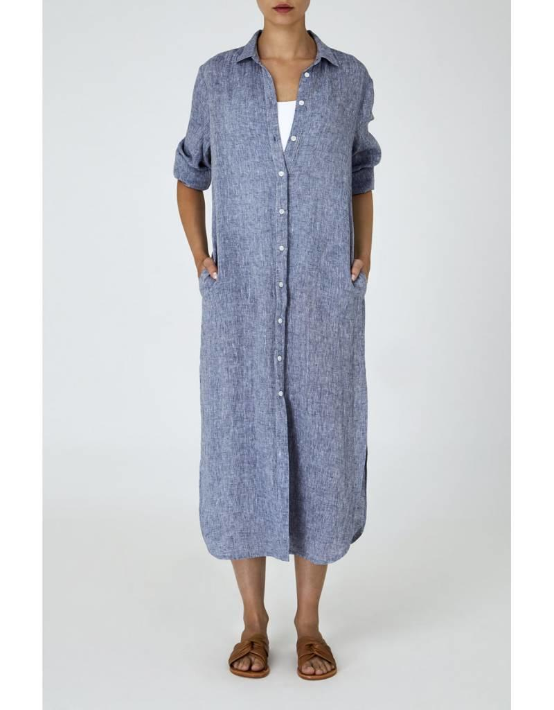 IN THE SAC THE LINEN DUSTER CHAMBRAY