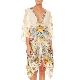CAMILLA LADY LABYRINTH SHORT KAFTAN W/ HARDWARE