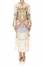 CAMILLA LADY LABYRINTH SHORT DRESS W/ HIGH LOW HEM