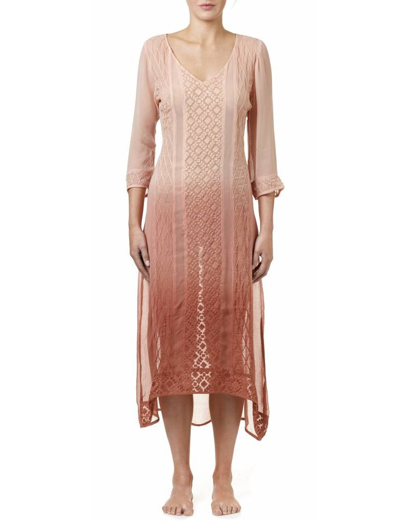 SALE - ONESEASON GISELLE DRESS DIP DYE