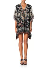 SALE - CAMILLA HAUTE PROVINCIAL SHORT LACE UP KAFTAN
