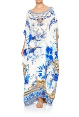 CAMILLA SAINT GERMAINE ROUND NECK KAFTAN
