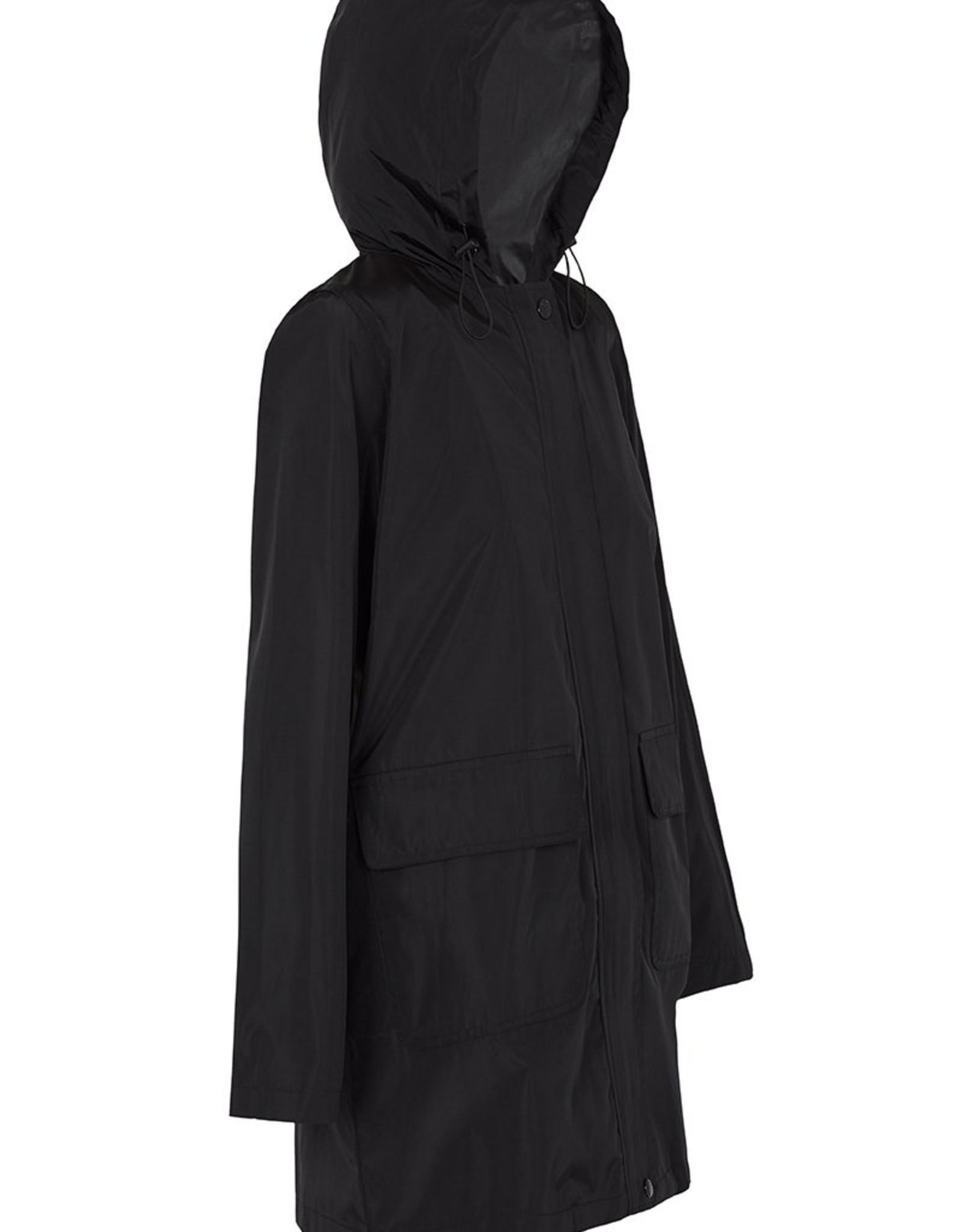 PAQME 3/4 JACKET ANYDAY RAINCOAT BLACK