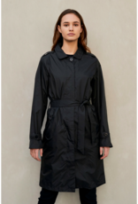 PAQME TRENCH RAINCOAT BLACK