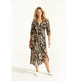 ONESEASON LONG POPPY DRESS PORTO