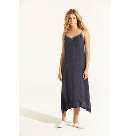 ONESEASON ANTOINETTE SLIP DRESS INK