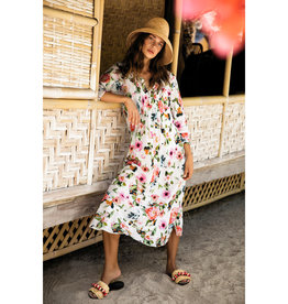 ONESEASON LONG POPPY DRESS SAN JOSE