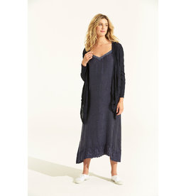 ONESEASON DAISY WRAP CARDIGAN NAVY