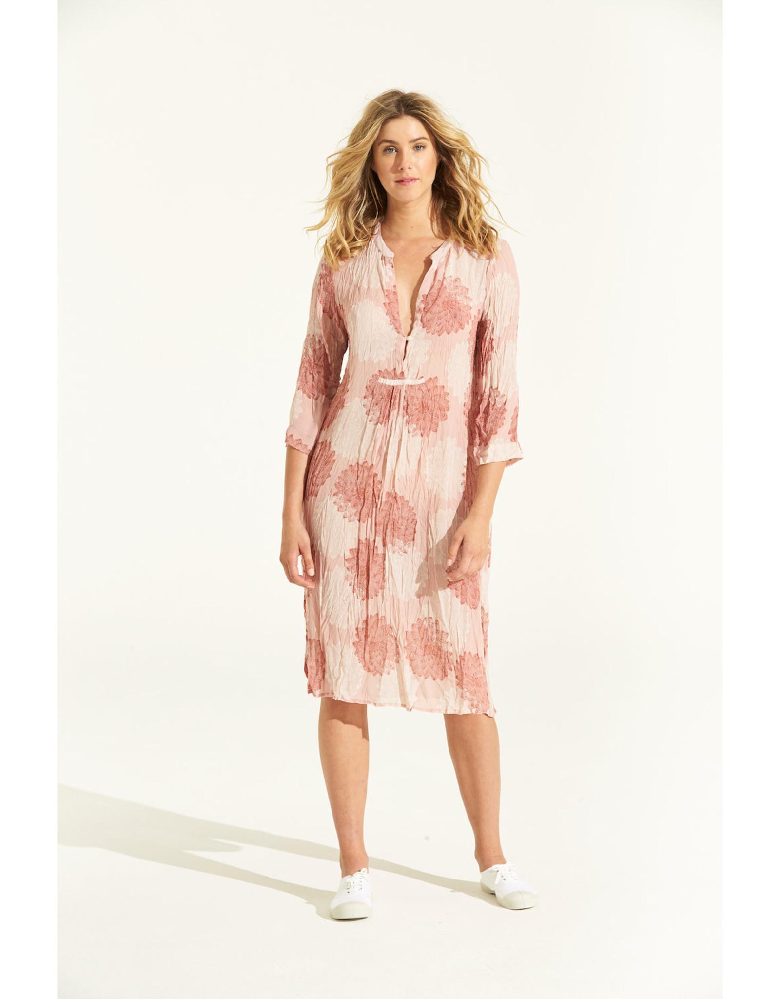 SALE - ONESEASON PAPY DRESS SICILY TERRACOTTA