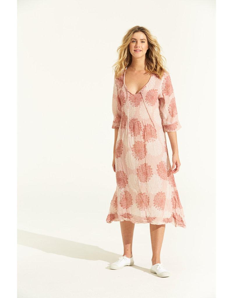 ONESEASON MARILYN DRESS SICILY TERRACOTTA