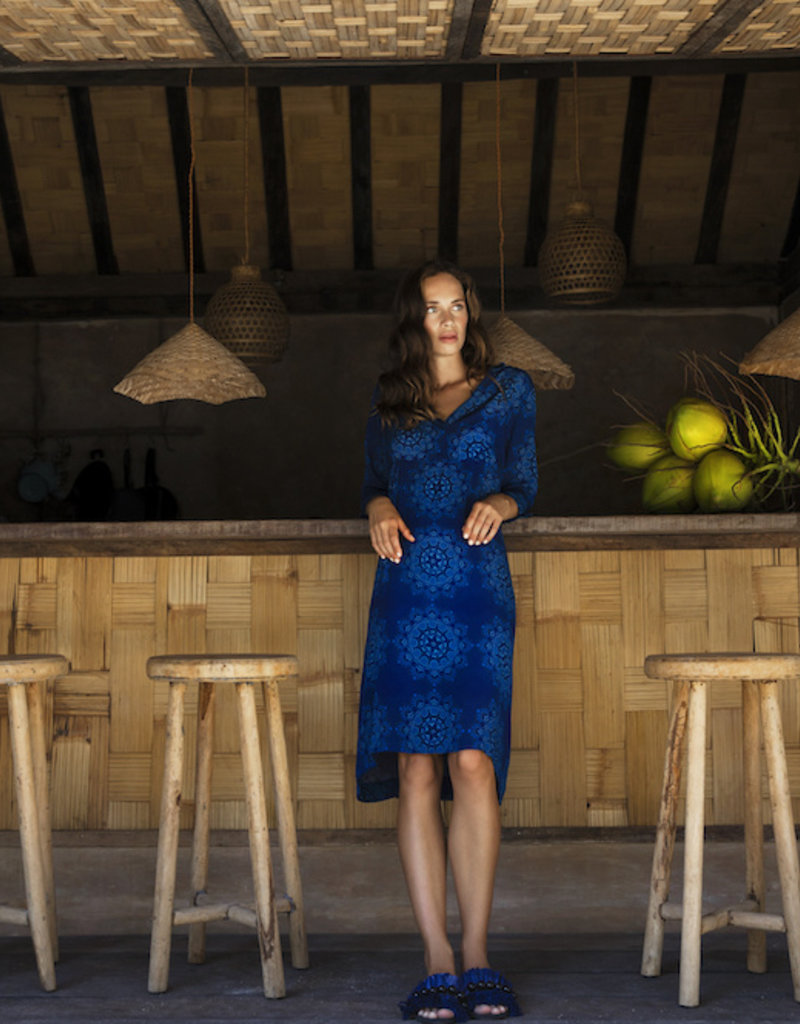 ONESEASON JAZZ DRESS MALDIVES BLUE