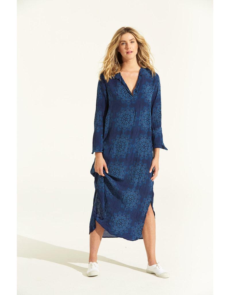 ONESEASON GENIE DRESS MALDIVES  BLUE