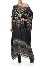 CAMILLA UNDER A FULL MOON ROUND NECK KAFTAN