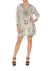 CAMILLA DAINTREE DREAMING RAGLAN SLEEVE TUNIC DRESS