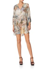 CAMILLA LETTERS FROM HILDA RAGLAN SLEEVE TUNIC DRESS