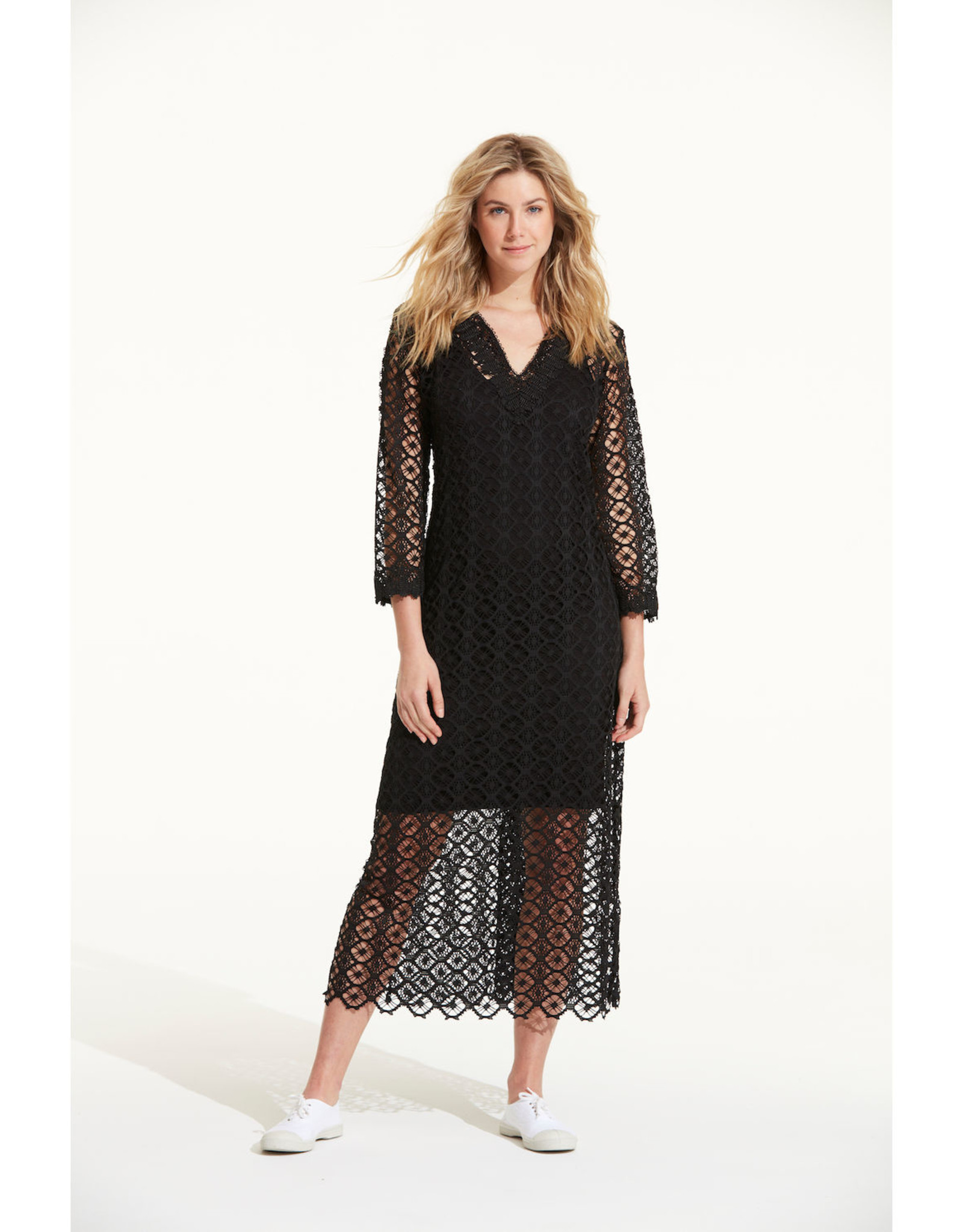 ONESEASON TAMSIN CROCHET BLACK