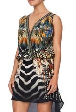 CAMILLA LOST PARADISE CROSS OVER DRESS W/LONG BACK