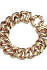 VON TRESKOW BIG MAMA BOLT BRACELET Y/GOLD