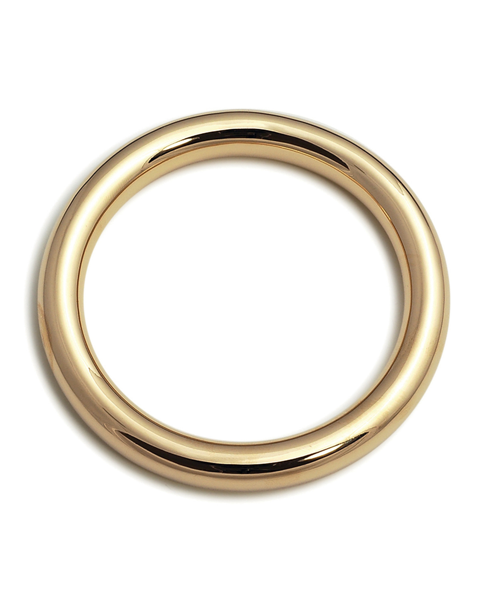 VON TRESKOW Y/GOLD 10MM GOLF BANGLE