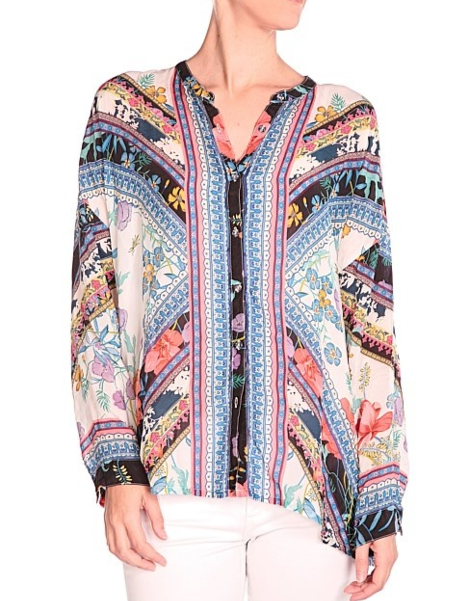 SALE - JOHNNY WAS INVO BLOUSE