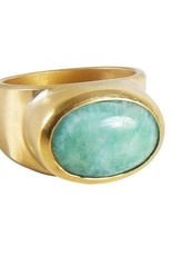 FAIRLEY  AMAZONITE COCKTAIL RING