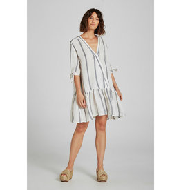 ESTILO EMPORIO LILA DRESS ATLANTIC STRIPE