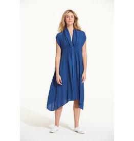 ONESEASON FLO DRESS ROYAL BLUE