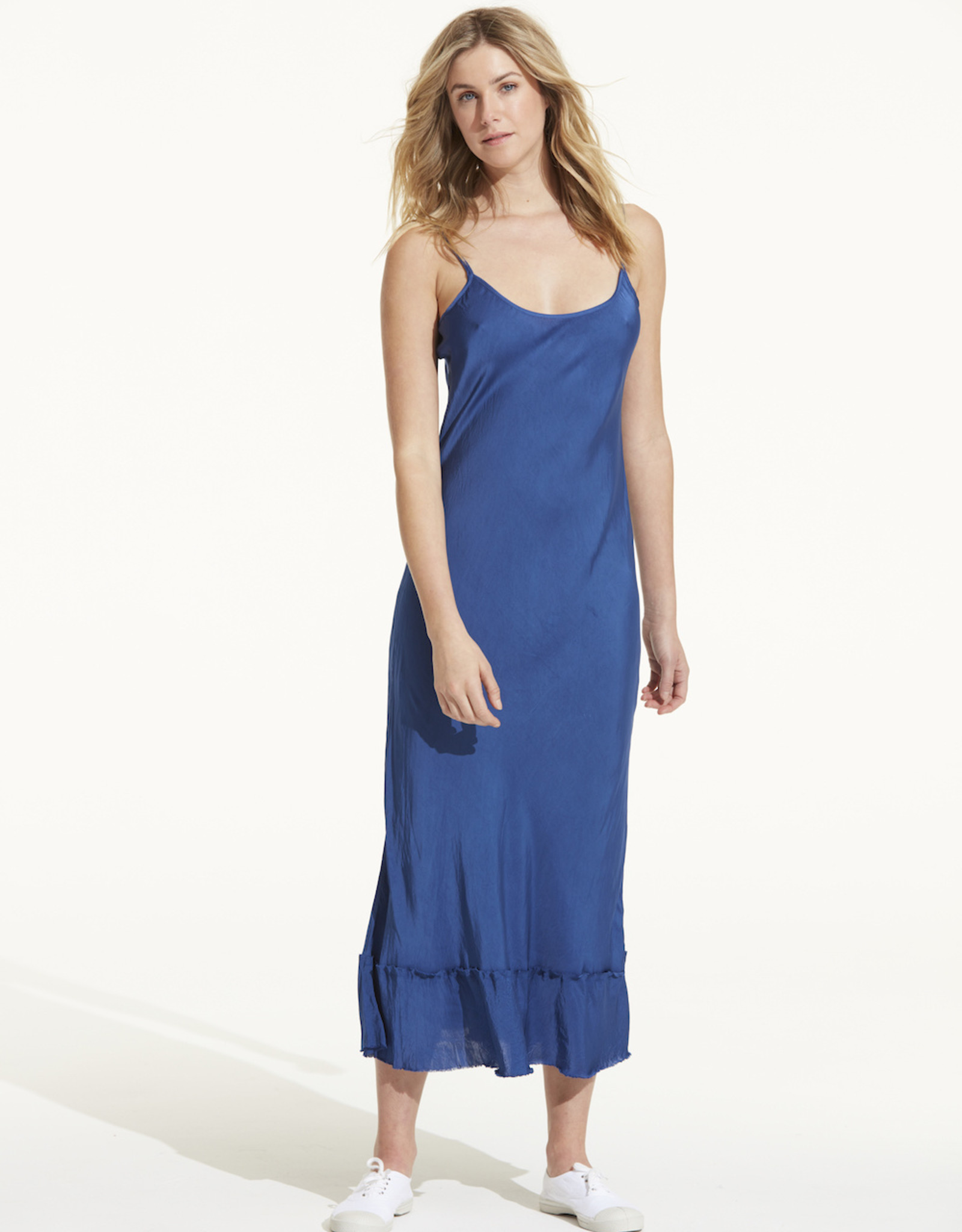 SALE - ONESEASON BLOSSOM SLIP ROYAL BLUE