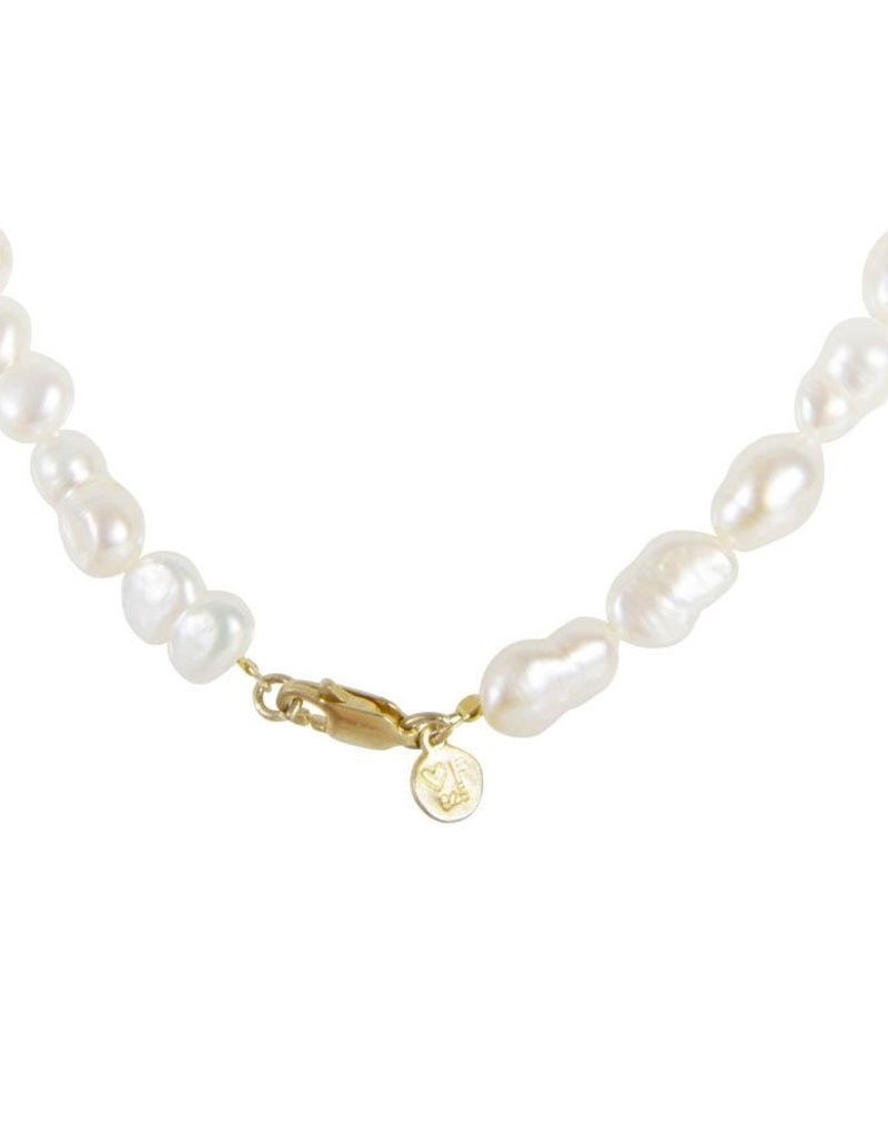 FAIRLEY PEARL PUFF NECKLACE