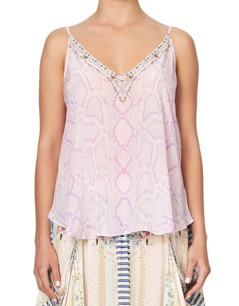 CAMILLA RAINBOW SANDS V NECK CAMI