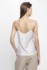 SILK LAUNDRY BIAS CUT CAMI LILAC