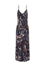 SILK LAUNDRY 90S SILK SLIP DRESS SNAKE