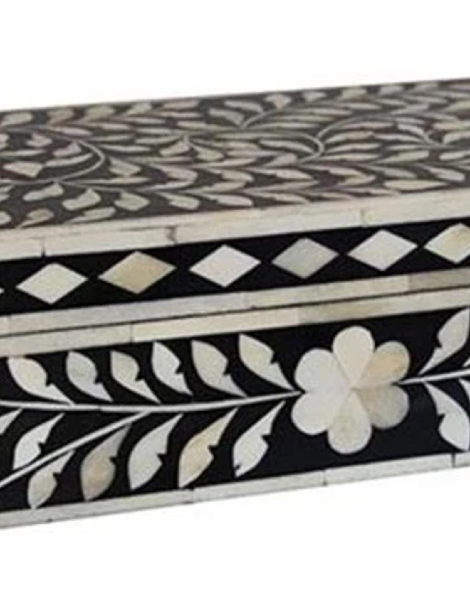 FERN BONE INLAY BOX